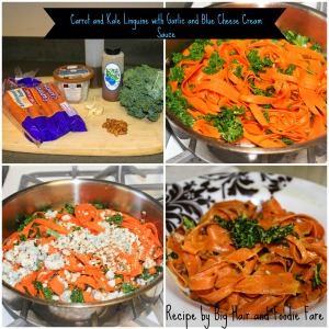 Carrot and Kale Linguini EDIT