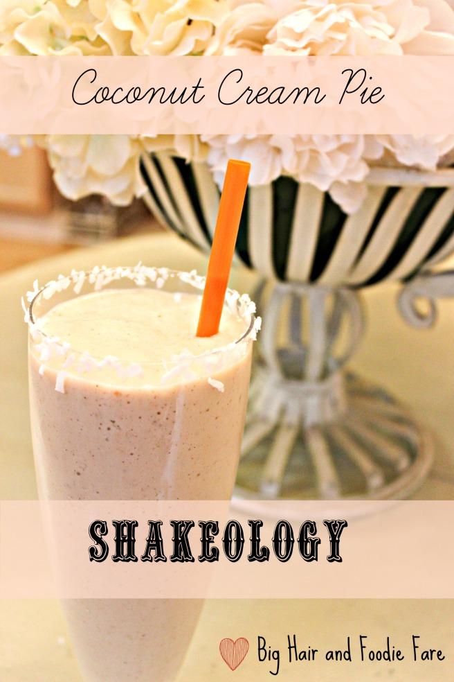 Coconut Cream pie shakeology