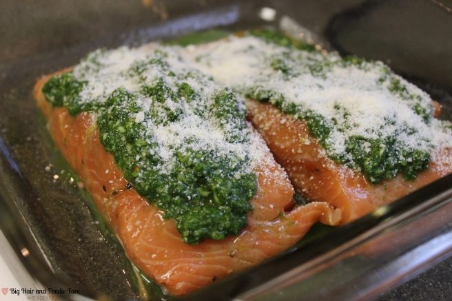 Spinach pesto salmon-3