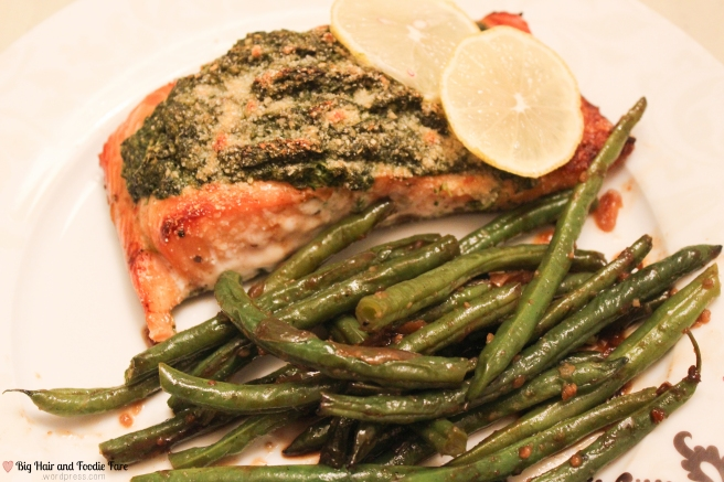 Spinach pesto salmon-4