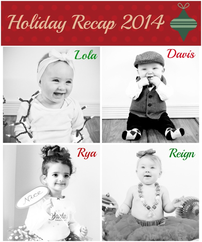 baby collage holiday 2